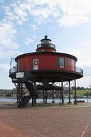 roter Leuchtturm - Baltimore, Maryland