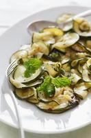 marinierte Zucchini foto