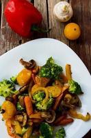 gegrilltes Gemüse foto