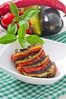 Gemüse Ratatouille foto