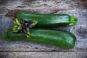 frisches Bio-Gartengemüse foto