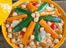 Gemüse Tajine foto