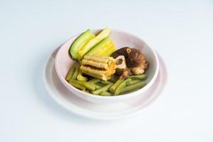 Maulwurf de olla. comida mexicana. mexikanische Nahrung. Studio isoliert foto