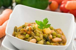 Gemüsesuppe. foto