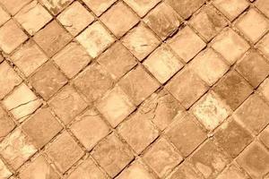 dekoratives Muster auf den Felsen