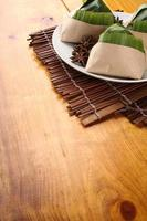 malaysischer nasi lemak foto