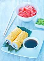 frisches Sushi
