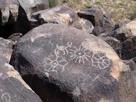 Hohokam Petroglyphe 4 foto
