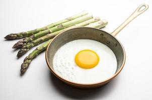 Eier mit Spargel