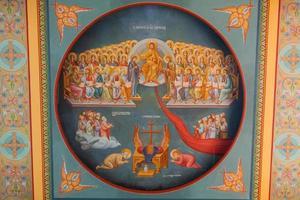 byzantinische Fresken foto
