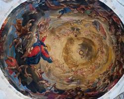 Deckenfresko von Pisa Duomo