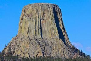 Teufelsturm, ikonische Ansicht foto