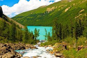Berge Fluss foto