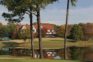 Clubhaus des East Lake Golfplatzes foto