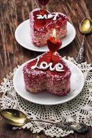 Dessert zum Valentinstag