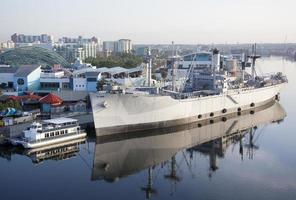 Tampa Port Reflexionen foto