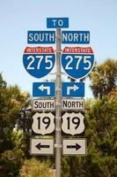 Autobahn 275 Nord oder Süd foto
