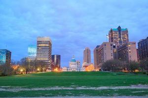 stadt st. Louis Skyline. Bild von st. Louis Innenstadt