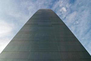 abstrakte Ansicht des Gateway-Bogens foto