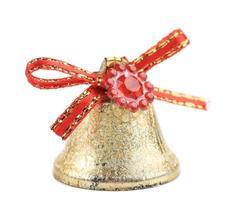 Weihnachtsklingelglocke für Baum. foto