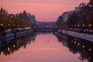 Dimbovita Fluss foto