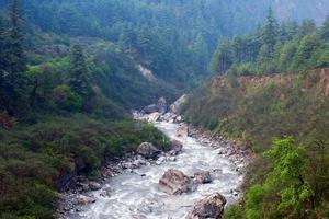 Kali Gandaki Fluss, Nepal foto