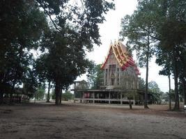 Tempel im Bau foto
