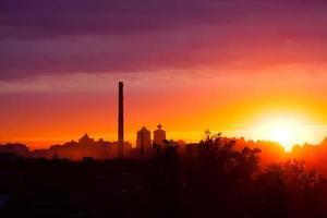 Sommersonnenaufgang foto