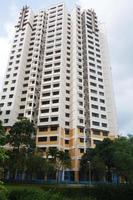 Hochhaus in Singapur foto