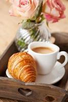 romantisches Frühstück foto