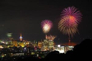 Beppu von Feuerwerk