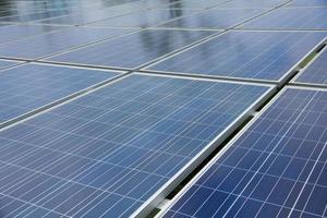 Foto: Nahaufnahme des Solarpanels