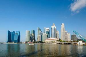 Singapur zentrales Geschäftsviertel