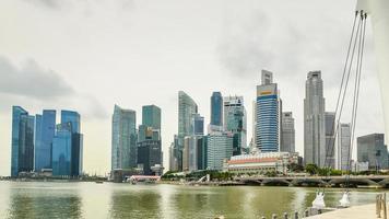 Singapur Hochhäuser foto