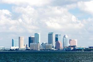 Tampa Skyline Bay Blick foto
