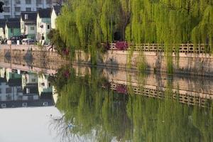 kleiner Kanal von Suzhou, China