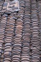 traditionelle chinesische Dachziegel foto