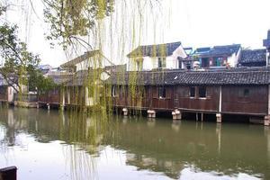 schöne chinesische Wasserstadt