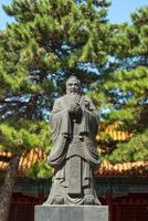Statue des Konfuzius foto