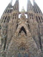 sagrada familia in barcelona foto