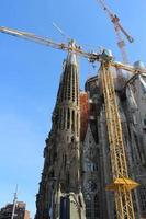 sagrada familia basilica, barcelona, spanien