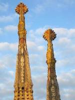 Sagrada Familia Kirche in Barcelona foto