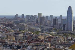 Barcelona Skyline foto