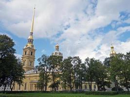 Peter und Paul Festung Saint Petersburg foto