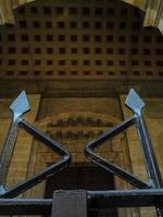 Zaun in der öffentlichen Bibliothek von Guadalajara foto