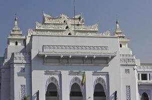 Yangon Rathaus foto