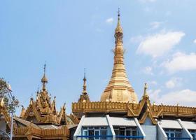 Sule Pagode in Yangon, Birma (Myanmar) foto