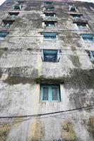Gebäudeturm in Yangon Myanmar foto