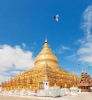 Shwezigon Paya, Bagan, Myanmar.