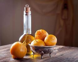 marokkanisch eingelegte Zitronen foto